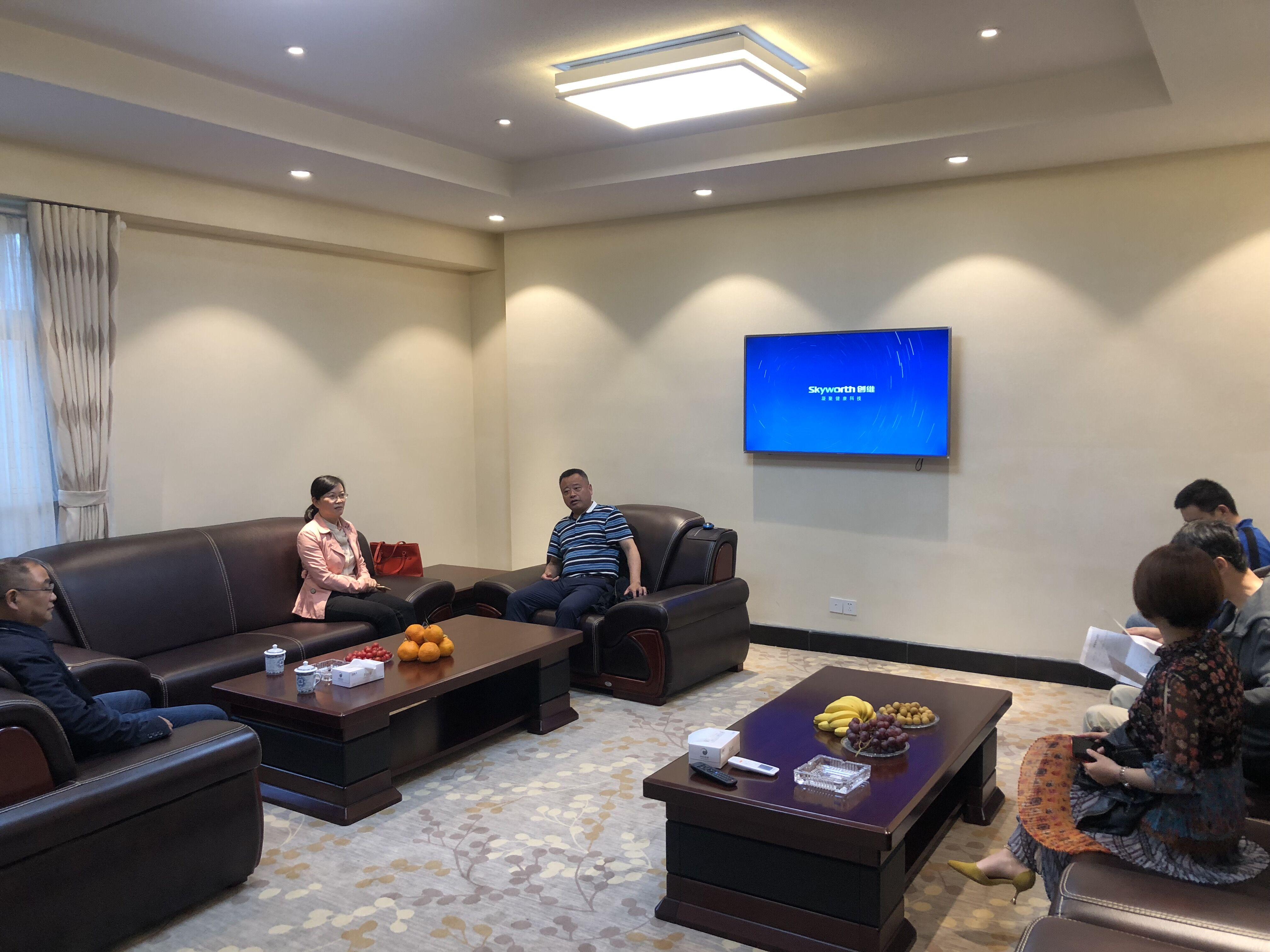 省建设干部学校组织相关专家对黄山市建设教育考核中心机房进行验收